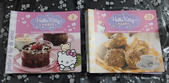 Lote Livros De Receitas Hello Kitty