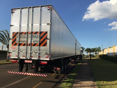 Carreta Bau Bitrenzâo Truck Van Zero 9 Eixos 20/20