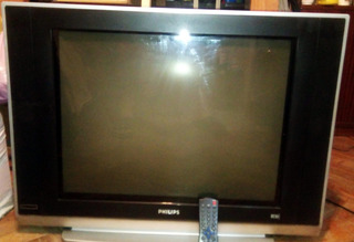 Tv Televisor Philips Real Flat 29 Pulgadas Excelente Estado
