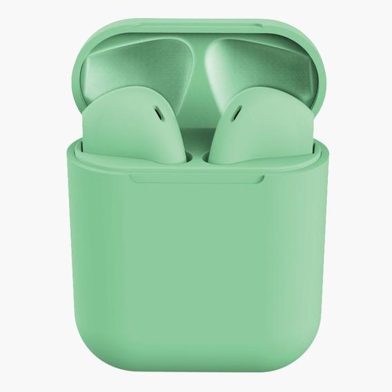 Inpods 12 Tws Macaron Fone De Ouvido Bluetooth Verde
