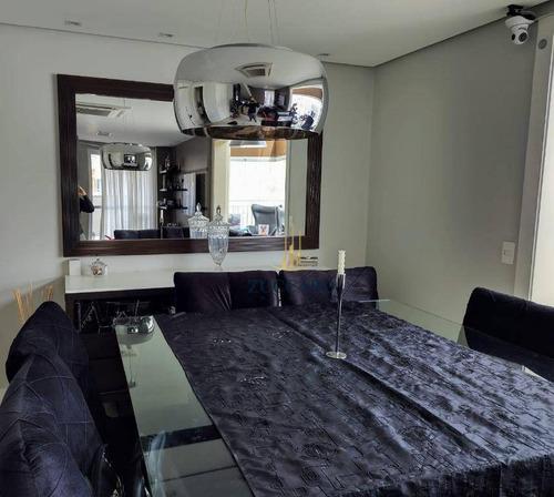 Cobertura Na Vila Augusta 204m², Condomínio Supera, 3 Dormitórios, 2 Suítes, 5 Vagas Cobertas. - Co0128