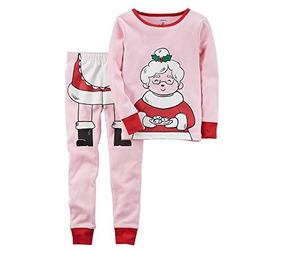 7d323be2fc Pijamas De Algodon Ajustados De Navidad De 2 Piezas Carter X