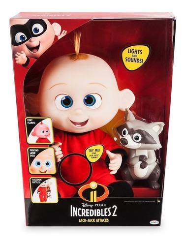 Muñeco Luz Sonido Bebe Jack Jack Los Increíbles 2 Original