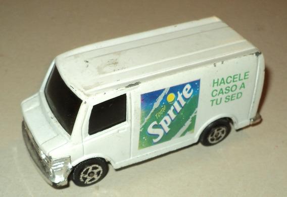 Camioneta Utilitaria De Coca Cola Sprite En Metal