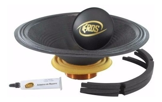 Kit Reparo Eros E818 Sds 18 Polegadas 8 Ohms Original