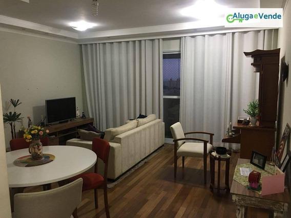 Apartamento Com 2 Dormitórios À Venda, 71 M² Por R$ 455.000 - Gopoúva - Guarulhos/sp - Ap0030