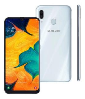 Samsung A30 Novo E Lacrado 64gb 4gb Tv Digital Nacional