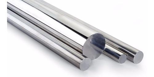 Imagem 1 de 3 de Barra Tarugo De Aço Inox 304 Redondo 10mm X600mm