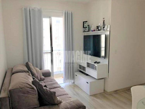 Apto Com 2 Dorms, 1 Vaga, 50m², Lazer - Ap13664