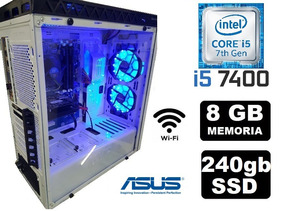Cpu Gamer Asus Core I5 7400 8gb Ssd240gb Hd630 2gb 500w