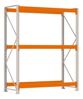 Porta Pallet Industrial 2,4t - 2m Longarina 2,30m Amapá