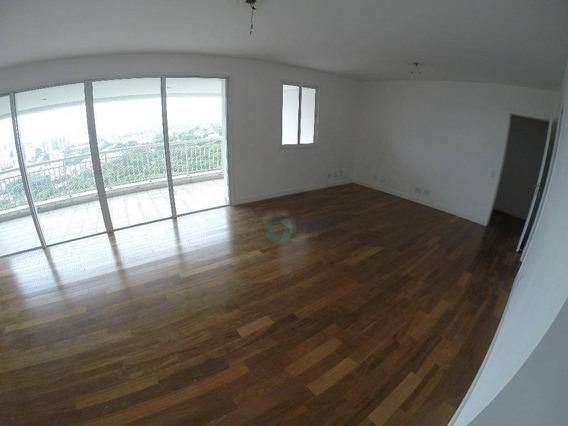 Apartamento Com 3 Dormitórios Para Alugar, 141 M² Por R$ 4.000,00/mês - Jardim Monte Kemel - São Paulo/sp - Ap1610