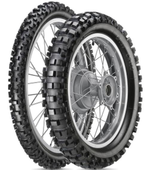 Par Pneu Honda Crf 230f 110/100-18 + 80/100-21 Cr400 Vipal