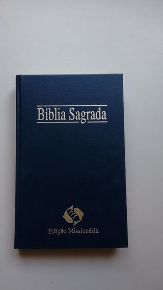 Livro A Bíblia Sagrada Edição Missionária N989