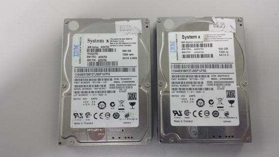 Hd Ibm System X 500gb 2,5 42d0752