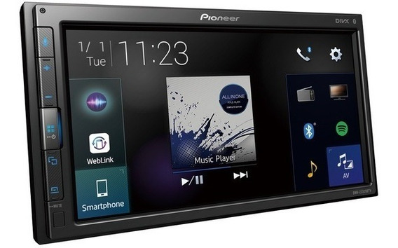 Multimídia Dmh-zs5280tv 6.8 Pioneer Bluetooth, Usb, Tv