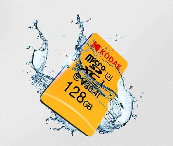 Cartão Micro Sdxc Kodak 128gb Classe 10 U3 Entrega Imediata