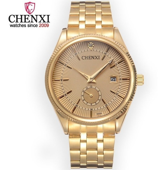 Relógio Original Chenxi Pronta Entrega Frete Livre P/entrega