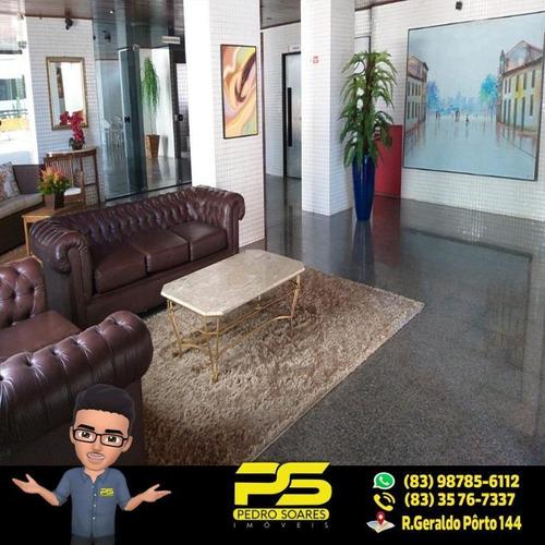 Apartamento Com 3 Dormitórios À Venda, 150 M² Por R$ 600.000,00 - Aeroclube - João Pessoa/pb - Ap2203