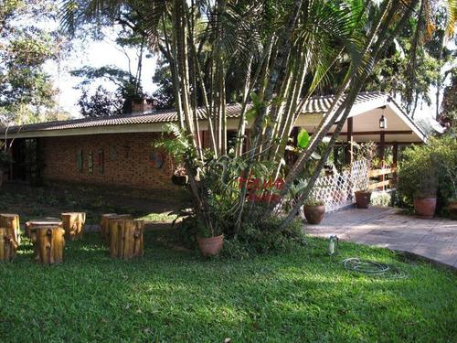 Imagem 1 de 20 de Chácara Com 4 Dormitórios À Venda, 7650 M² Por R$ 3.999.999,99 - Vila Santo Antônio - Cotia/sp - Ch0017