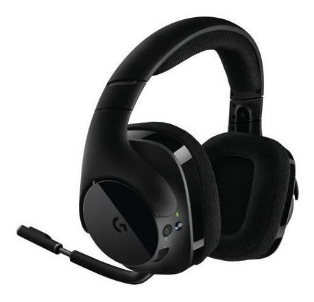 Fone de Ouvido Headset Gamer Wireless G533 Dts 7.1 Logitech 981-000633