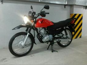 Honda Gl 125 Color Rojo