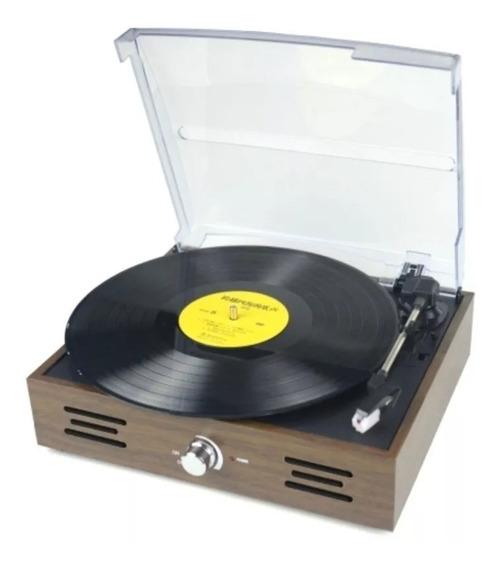 Tocadiscos Vinilo Vintage Retro Winco Apto Amplificador Aux