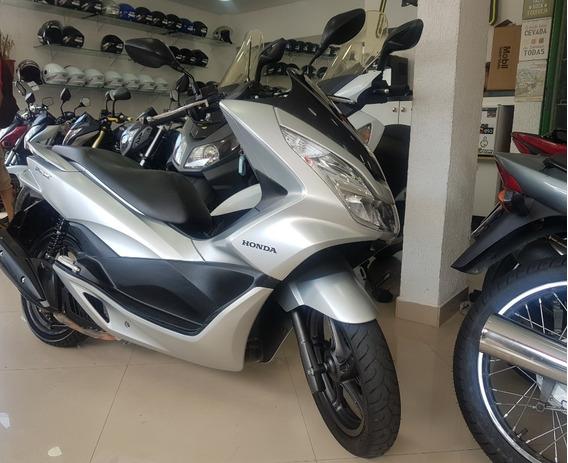 Honda Pcx 150 2017 Prata 12000 Km