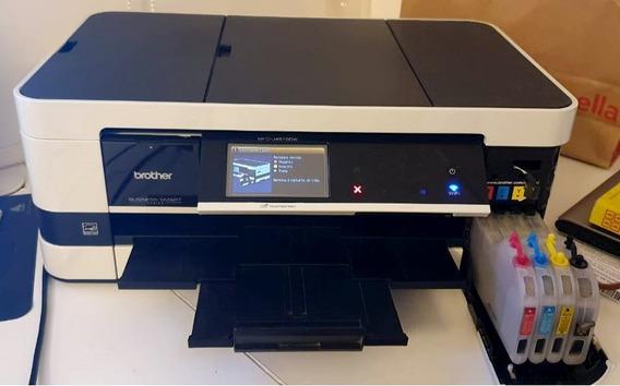 Impressora Brother A3 Com Bulkink -trocar Cabeçote Impressão