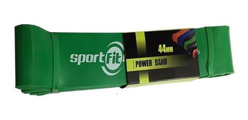 Banda De Poder Sportfitness Tensión 100/120lb Elástico Verde