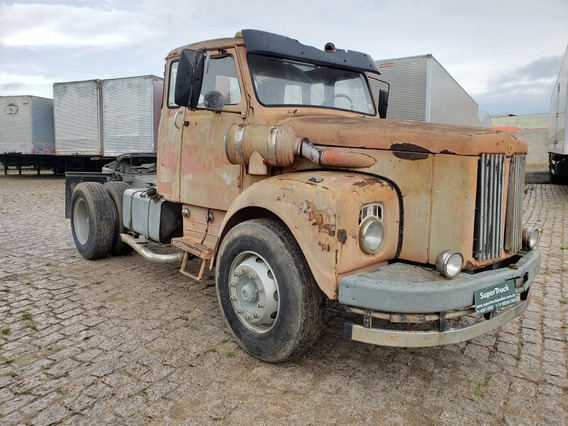 Scania L 110 4x2 Ano 1970 Chassi Rem