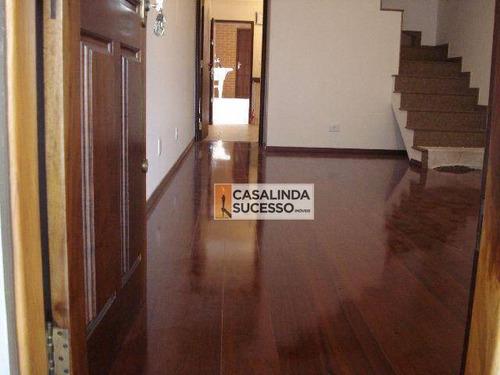 Sobrado Com 3 Dormitórios À Venda, 160 M² Por R$ 630.000,00 - Vila Formosa - São Paulo/sp - So0064