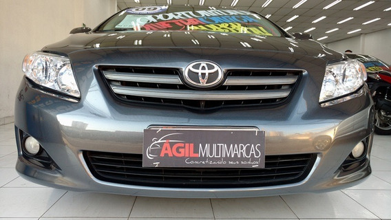 Toyota Corolla 1.8 Xei Único Dono 2009 Cinza