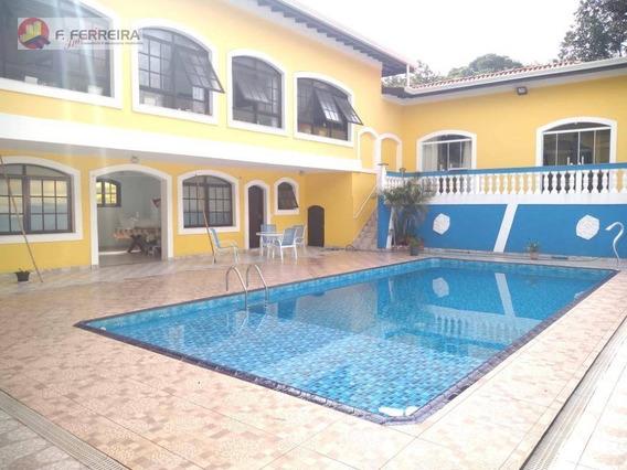 Casa Com 5 Dormitórios À Venda, 732 M² Por R$ 1.600.000 - Chácaras Bosque Do Embu - Embu Das Artes/sp - Ca0253