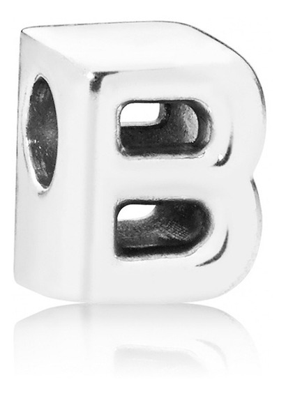 Charms Dije Alfabeto Letras S925 Plata Compatible Pandora