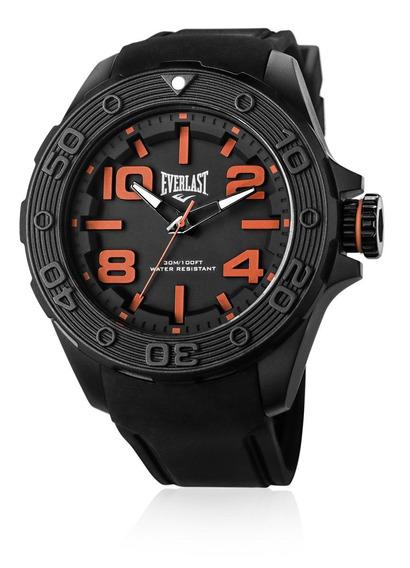Relógio Pulso Everlast Force Caixa Abs Pulseira Silicone