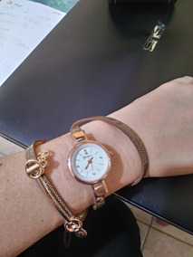 Relógio Yakoo Luxo Da Moda