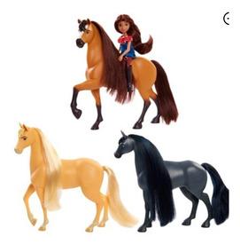 Spirit Cavalgando Livre 3 Cavalos + Lucky - Original Eua