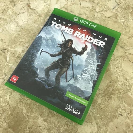 Rise Of The Tomb Raider - Xbox One - Mídia Física