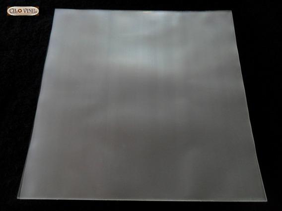 50 Plásticos 0,20 Extra Grosso P/ Capa De Lp Discos Vinil