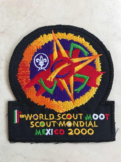 Parche Insgnia 11 Rover Scout Moot Mundial