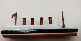 Barco Titanic Coleccion Miniatura Metal Sacapuntas Incorp