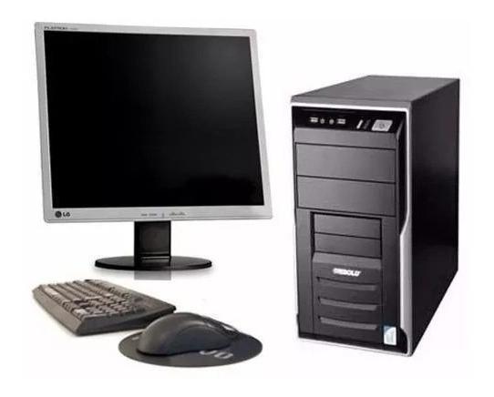 Cpu Semi Nova Pentium 4 1gb Hd 80gb + Monitor#frete Grátis