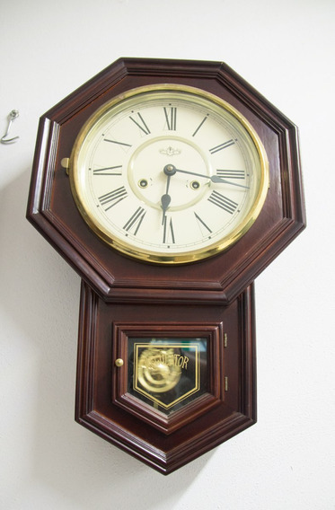Reloj De Pared Antiguo Regulator Unico