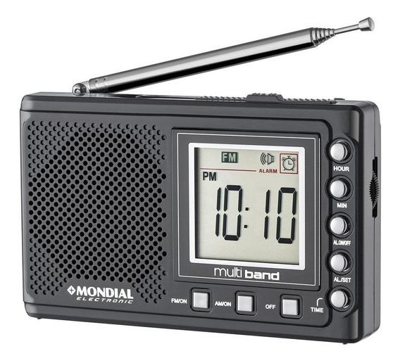 Rádio Portátil Mondial Multi Band Ii, Rádio Am/fm/sw Bivolt