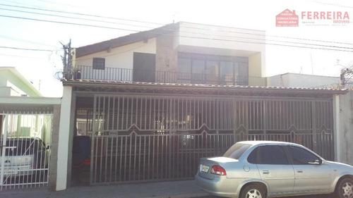 Sobrado, 3 Dormitórios, Suíte. Uso Residencial/comercial. Ponte São João, Jundiaí-sp. Preço Ocasião. - Ca0054