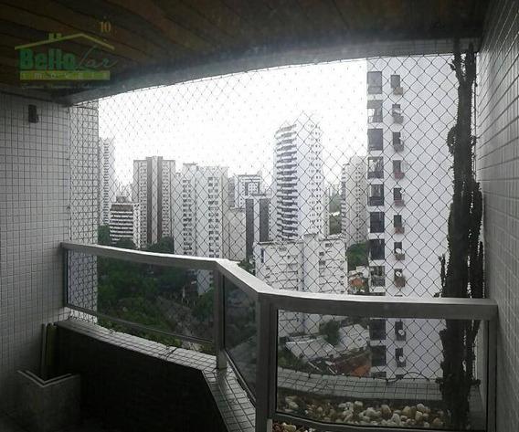 Apartamento Residencial À Venda, Tamarineira, Recife. - Ap0647