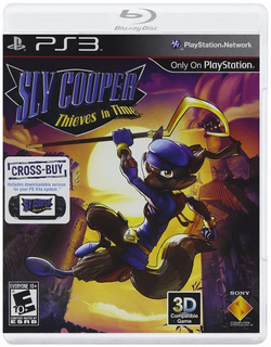 Sly Cooper Thieves In Time - Ps3 - Digital - Manvicio