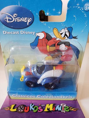 Motorama Disney Clássicos Colecionáveis Super Pato 5cm