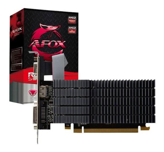 Placa De Vídeo 2gb Ddr3 64 Bits Afox Radeon R5 220